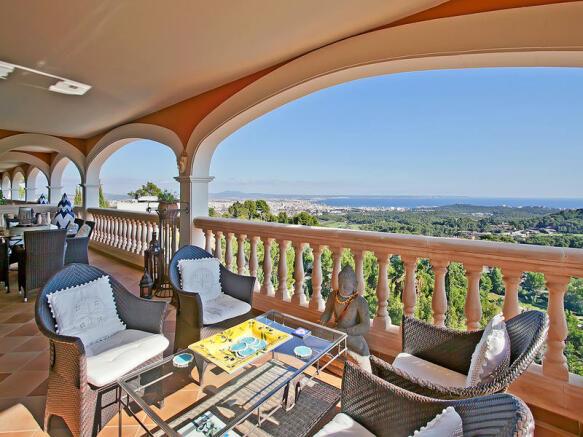 Villa with panoramic view in Son Vida - Palma de Majorca