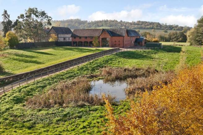 8 Bedroom Barn Conversion For Sale In Park Farm Colwall