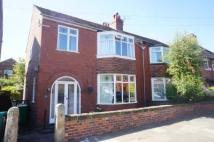 3 bedroom semi detached home in Newport Road, Chorlton...