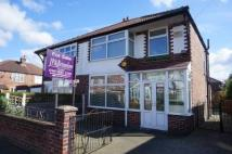 semi detached house in Lisburn Avenue, Chorlton...