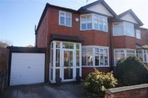 semi detached home for sale in Rutland Avenue, Firswood...