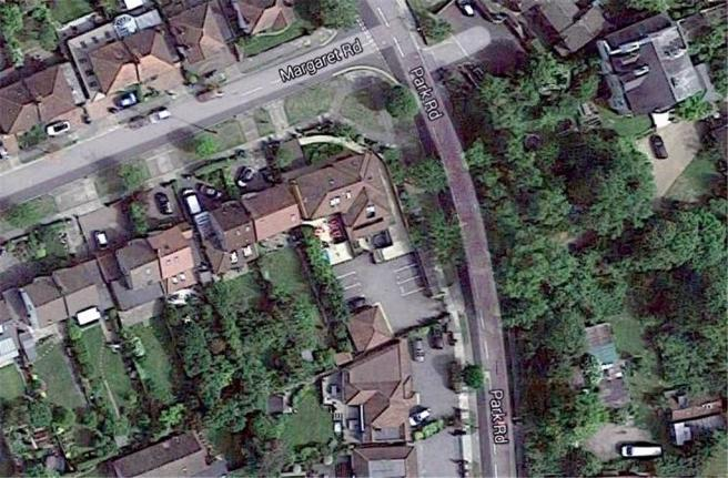 90 Park Road Aerial photograph