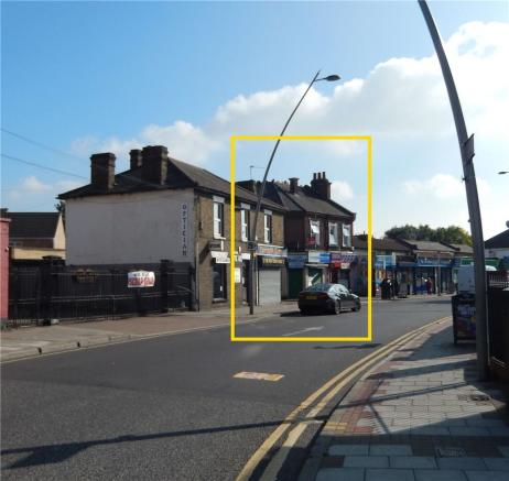 3 Station Road Development from High Road Chadwell Heath A