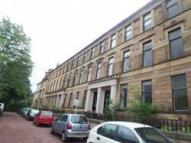 1 bed Flat to rent in Hamilton Drive, West end...