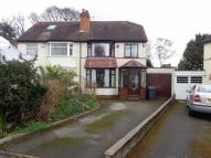 Yew Tree Avenue semi detached house for sale