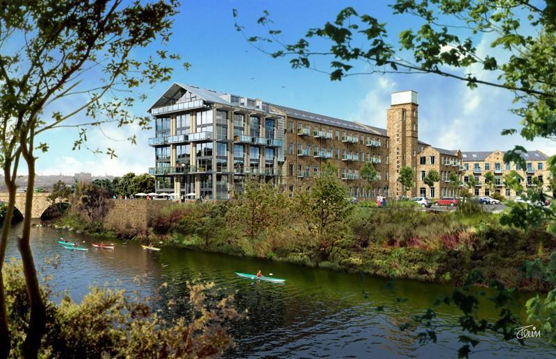 1 bedroom apartment to rent Ledgard Bridge Mill, Ledgard Wharf,Mirfield,WF14