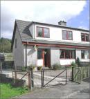 3 bed semi detached property in Kirk Brae, Lochaline...