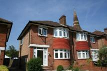 semi detached house in Friars Place Lane...