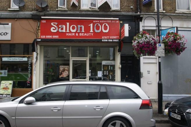 Retail property high street to rent in churchfield road for Acton nail salon