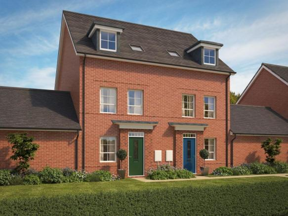3 bedroom new home for sale in Exeter Devon