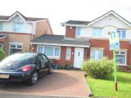 semi detached house in King George Way, Renfrew...