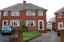 semi detached house to rent in Glenmore Road, Exeter...