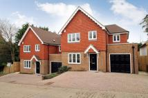 Detached house in Hut Lane Hadlow Down...