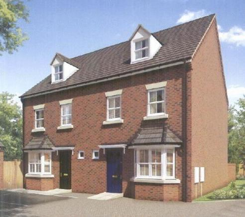 3 Bedroom Semi Detached House For Sale In A Brand New
