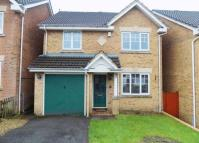 semi detached house in Burnet Drive, Hengoed