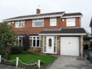 3 bed semi detached house in Chadderton Drive...