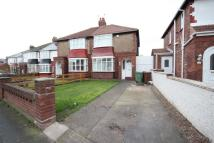 3 bed semi detached property in Powlett Road, Hartlepool...