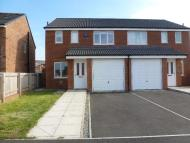 3 bedroom semi detached home in Evergreen Close...