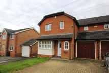Terraced house to rent in CHERTSEY, SURREY