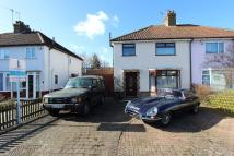 WALLASEY CRESCENT semi detached house to rent
