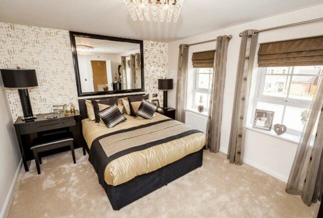 Faringdon master bedroom