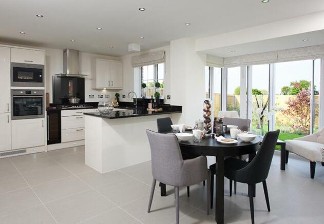 Harborough kitchen/family area