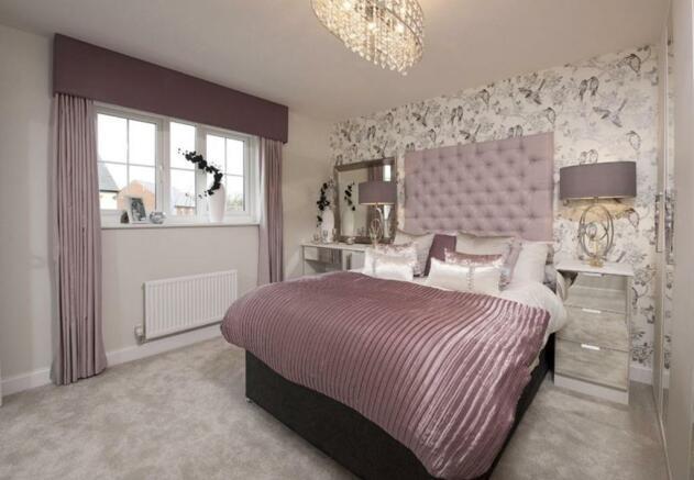 Warwick double bedroom