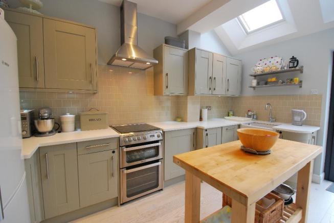 Integrated Kitchen Area