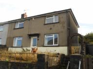 3 bed semi detached home to rent in Heol Tewdwr, Cymmer...
