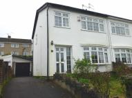 3 bed semi detached property in Darren View, Llangynwyd...