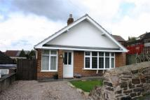 Bungalow in Mill Street, Belper...
