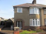3 bed semi detached house in Church Avenue, Llwydcoed...