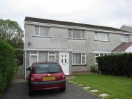 3 bedroom semi detached house in Clos Glan Lliw, Pontlliw...