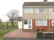 3 bed semi detached home for sale in Garden Crescent...