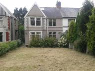 semi detached property in Dinas Baglan Road...