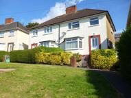 3 bed semi detached home in Manorbier Crescent...