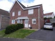 Heol Barcud semi detached property for sale