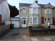 4 bedroom semi detached home for sale in Bwlch Road, Fairwater...