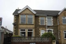 3 bedroom semi detached property in Park Drive, Bargoed