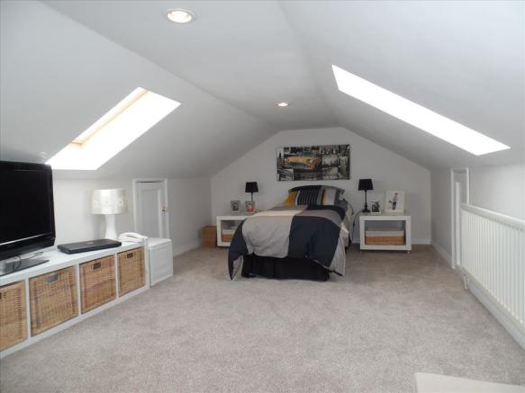 BEDROOM THREE/LOFT room