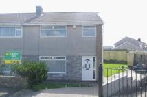 3 bedroom semi detached property for sale in Heol Ddeusant, Beddau...