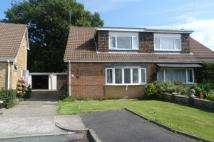 3 bedroom semi detached property in Anglesey Close, Tonteg...