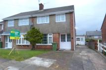 3 bed semi detached house in Carlton Crescent...