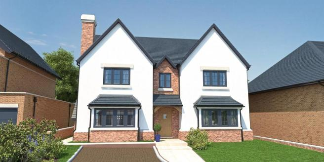 5 bedroom detached house for sale in glendale house for Modern houses for sale uk