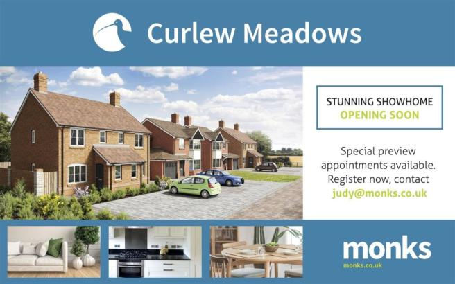 Curlew Meadows sign