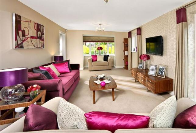 Previous Warwick Show Home Lounge