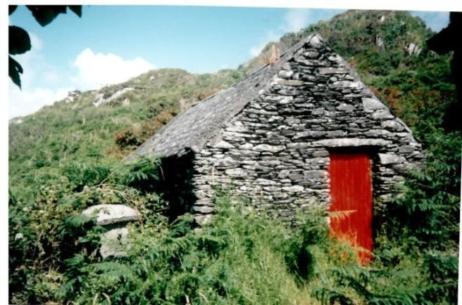 Stone shed in recent