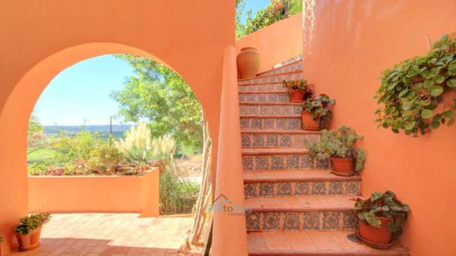 stairs to roof terrace