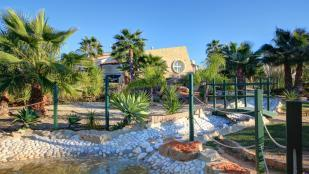 gardens and water features