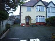 Flat to rent in Conway Road, Colwyn Bay...